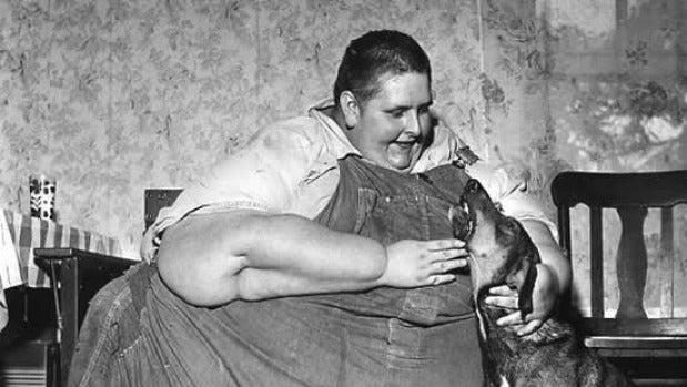 El tintero: Cómo el hombre más gordo del mundo se convirtió en una celebridad