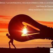 Cartel de la conferencia de esta sábado en Les Coves de Vinromà.