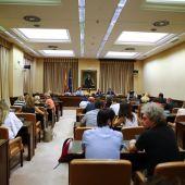 Vista general de la sesión constitutiva de la Comisión de Interior celebrada en el Congreso
