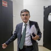 El diputado del PSOE, Pedro Saura.