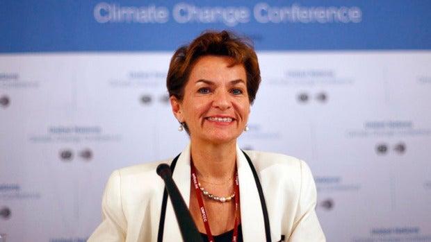 "Christiana Figueres: ""Apenas llegamos para frenar el cambio climático"""