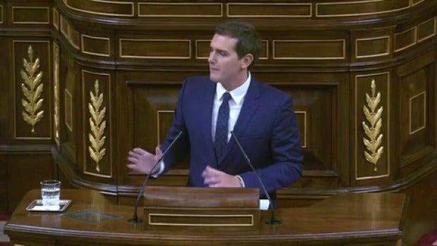 """Albert Rivera: """"Rajoy no es el presidente que queríamos, pero había que desbloquear"""""""