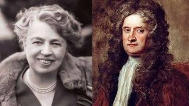 Los inspiradores: Eleanor roosevelt y Isaac Newton