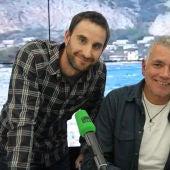Dani Rovira, Ramón Arroyo y Juan Ramón Lucas