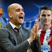 Manchester City - Barcelona y Atlético de Madrid - Rostov