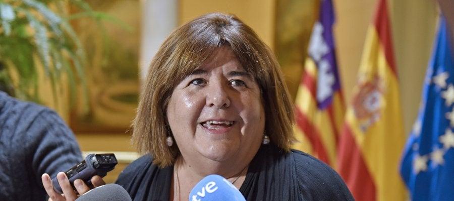 Xelo Huertas, presidenta del Parlament balear