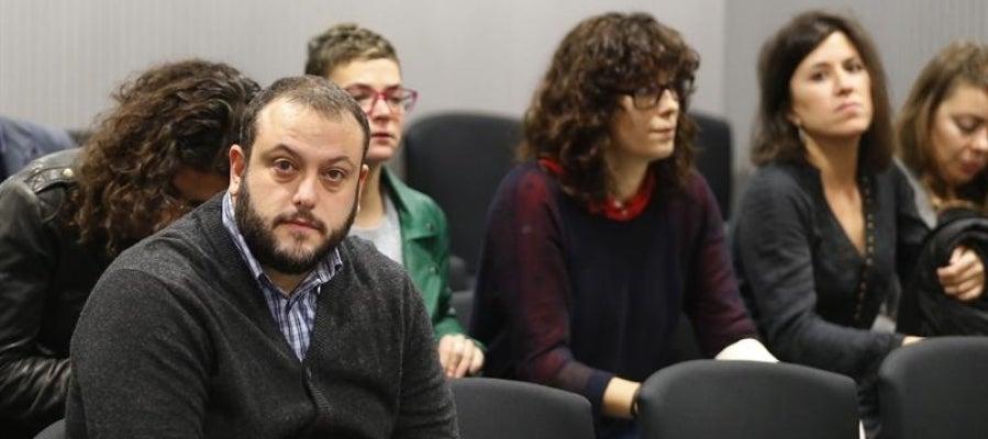 Guillermo Zapata durante el juicio
