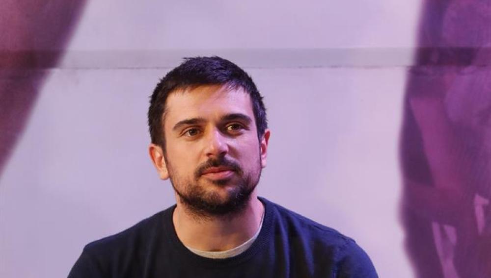 El portavoz de Podemos en el Senado, Ramón Espinar