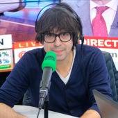Luis Piedrahita durante una entrevista en Onda Cero