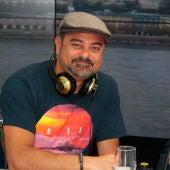 Nach y Luis García Montero durante una entrevista en Onda Cero