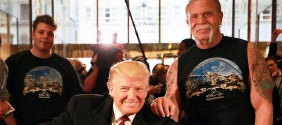 La moto 'presidencial' de Donald Trump