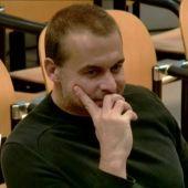 Antonio Ortiz, durante el juicio
