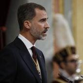 El rey Felipe VI en el Congreso