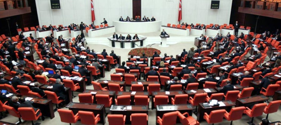 El Parlamento de Turquía