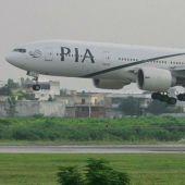 Un avión de Pakistan International Airlines
