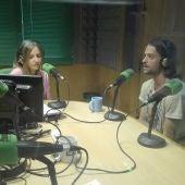 Diego Castro con Susana Pedreira