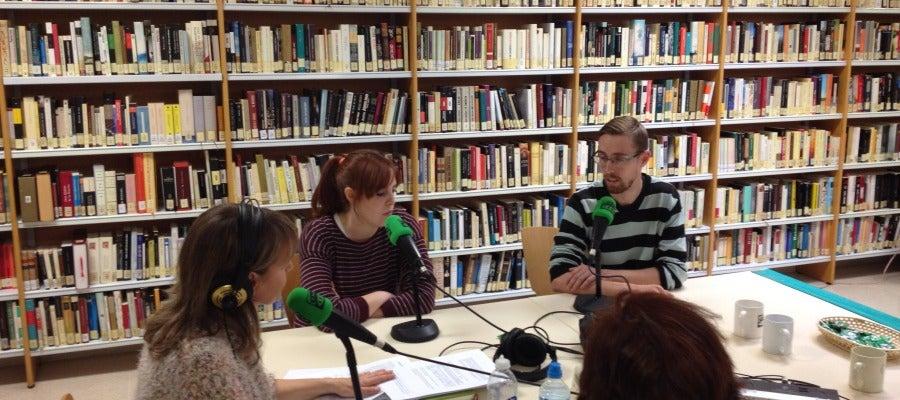 Onda Cero Alcalá desde el Centro Cívico María Zambrano, charlamos con CAJE.