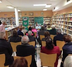 Onda Cero Alcalá en la biblioteca del Centro Cívico María Zambrano