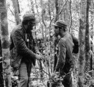 Fidel Castro, con el 'Che' Guevara