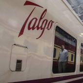 Uno de los trenes de la empresa española Talgo