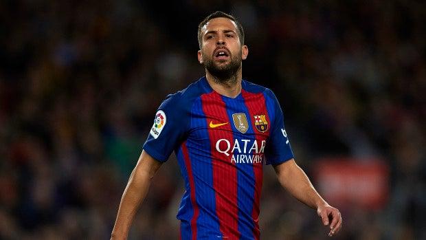 """Jordi Alba: """"¿Un título menor la Copa del Rey? Eso sólo lo dicen los que no juegan la final"""""""