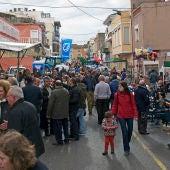 La 'Fira de Sant Andreu' de Cabanes ha sido participativa pese a la lluvia.