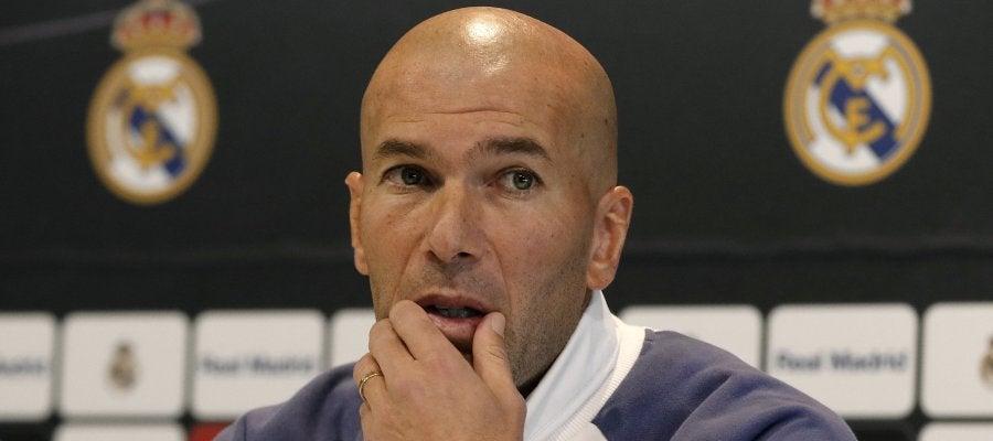 """Zidane confía en Clos Gómez para el Clásico: """"Lo hará lo mejor posible para que el partido se juegue bien y nada más"""""""