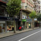 Comercios de la calle Reina Victoria de Elche.