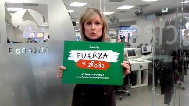 """María Rey: """"Es muy importante que contribuyamos a luchar contra las enfermedades raras"""""""
