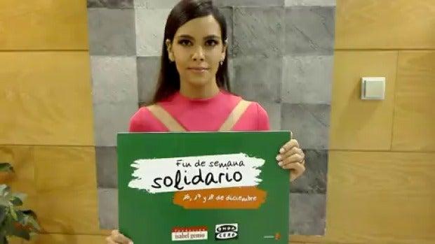 """Cristina Pedroche: """"Participa en el fin de semana solidario"""""""