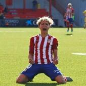 Amanda Sampedro, jugadora del Atlético de Madrid.