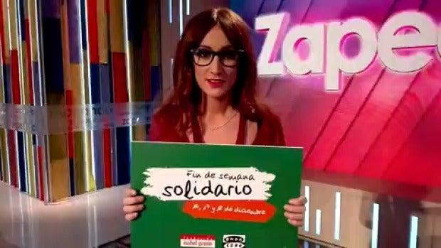 """Ana Morgade: """"Envía fuerza al 28030"""""""