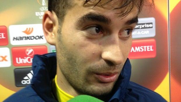 El jugador del Villarreal, Manu Trigueros