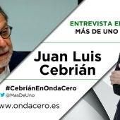Juan Luis Cebrián en Más de uno