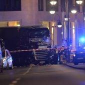 Camión con el que se ha llevado a cabo el ataque de Berlín
