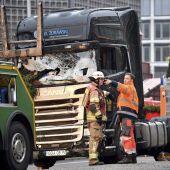 Retiran el camión del atropello masivo en Berlín