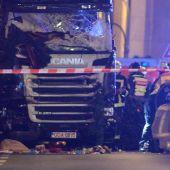 El camión que ha atropellado a decenas de personas en Berlín