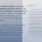 Comunicado de José María Aznar en su página web