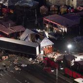 Lugar del atentado terrorista de Berlín