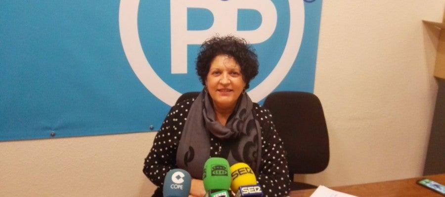 Manuela Mora, edil del PP de Elche, en una imagen de archivo.