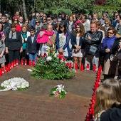 Concentración en recuerdo a las víctimas del Yak-42