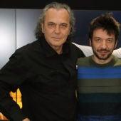 José Coronado, Oriol Paulo y Mario Casas