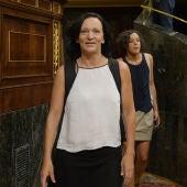 Carolina Bescansa en el Congreso de los Diputados