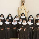 Hermanas de la congregación de Las Clarisas de Elche.