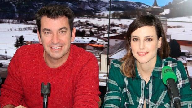 """Natalia de Molina: """"Tuvimos que parar el rodaje de 'Los del túnel' porque me daban ataques de risa"""""""