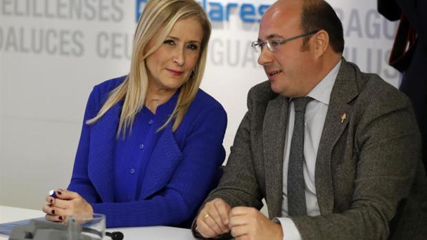Cristina Cifuentes y Pedro Antonio Sánchez