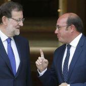 Pedro Antonio Sánchez y Rajoy