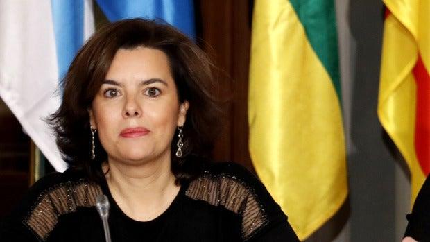 """Soraya Sáenz de Santamaría: """"Gobernar une mucho, porque todos tenemos los mismos problemas gestionando recursos"""""""