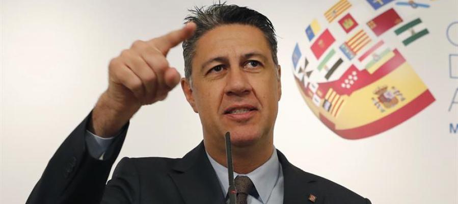 El senador y coordinador general del PPC, Xavier Garcia Albiol