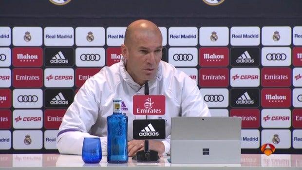 """Zinedine Zidane: """"Soy el culpable de lo sucedido, pero podemos ir a Vigo y cambiar esto"""""""